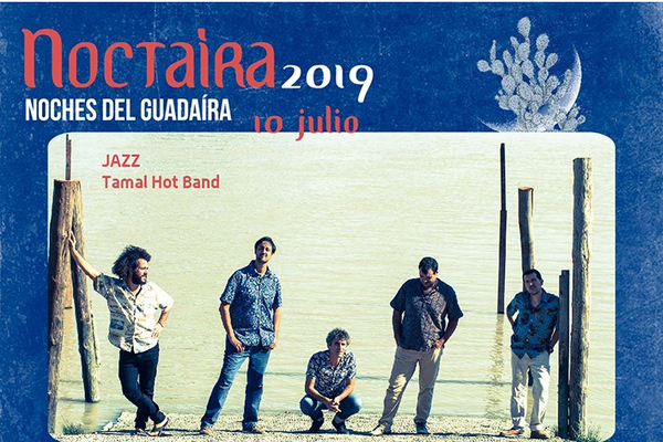 #Noctaíra19 en el Castillo con Jazz Tamal Hot Band