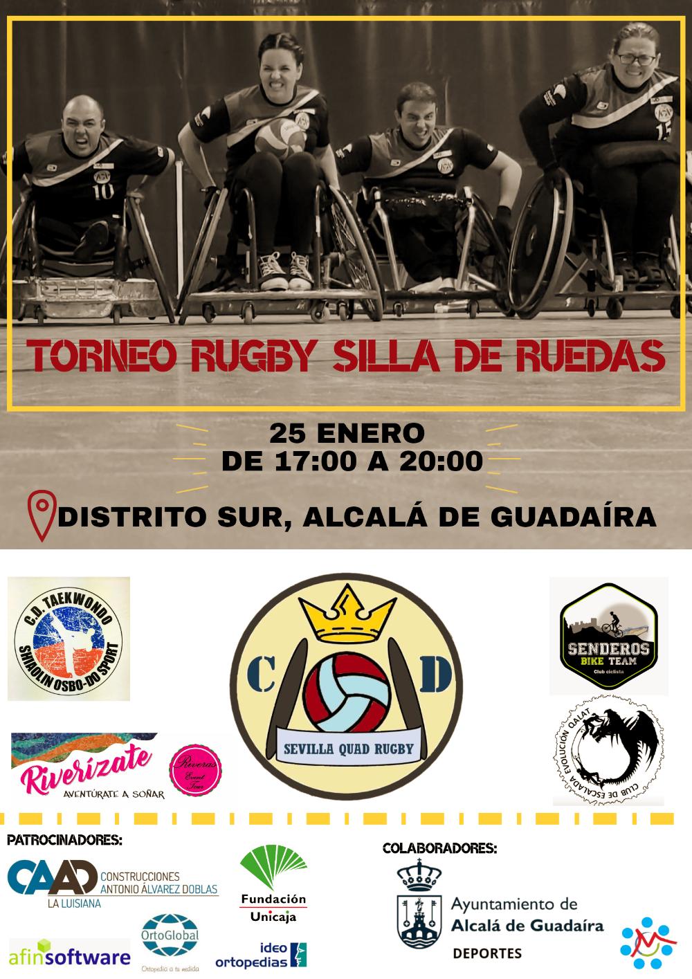 calendario eventos rugby silla de ruedas
