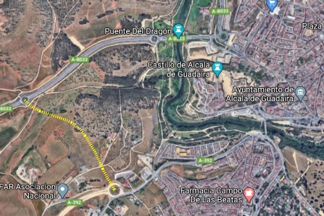 El Ayuntamiento pone en marcha el proyecto de vial intermedio para mejorar el tráfico en Alcalá